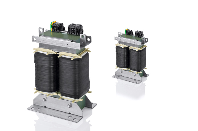 Control‑ and safety isolating‑ resp. isolating transformer TT1, TT1