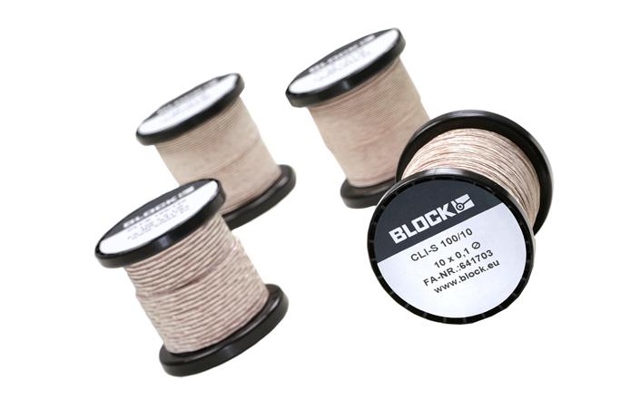 Stranded and braided copper litz wire CLI‑S, CLI‑S