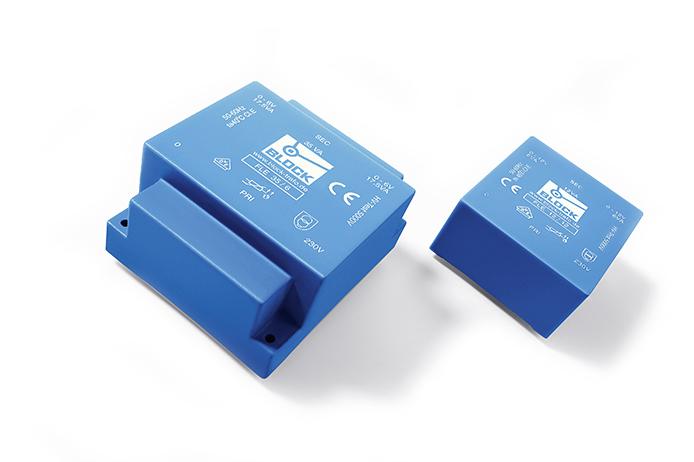 Short‑circuit proof low profile transformer FLE, FLE