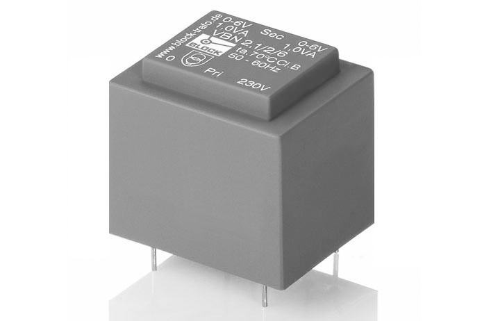 Short circuit proof PCB transformer VBN<br />DISCONTINUED MODEL, VBN